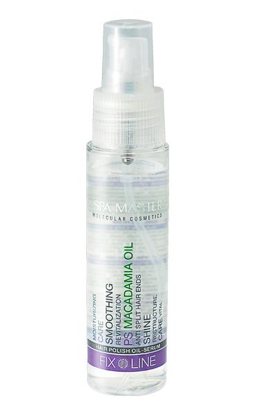 Hair polish oil-serum Spa Master Molecular Rosa Impex