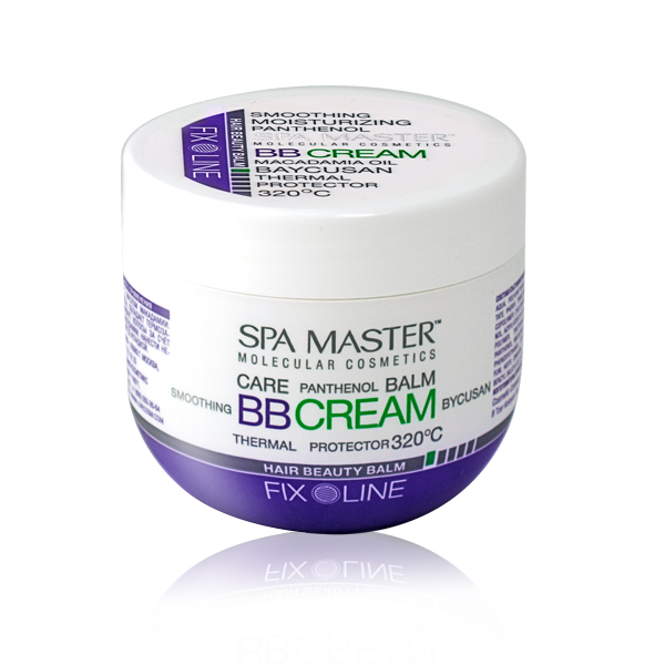 Hair beauty balm Spa Master Molecular Rosa Impex
