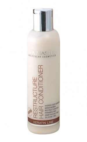 Restructuring hair conditioner Spa Master Molecular Rosa Impex