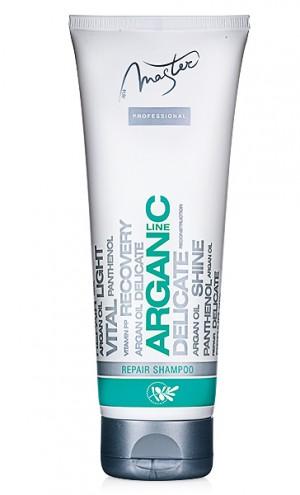 Възстановяващ шампоан за коса с арганово масло Spa Master Arganic Line Rosa Impex