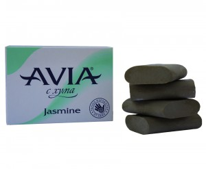 Soap with natural Fuller's earth Avia Satinelle Jasmine
