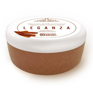 Body scrub with milk and cinnamon Leganza Rosa Impex Leganza Rosa Impex