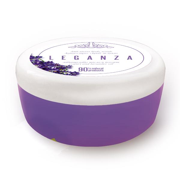 Body scrub with lavender and yoghurt Leganza Rosa Impex
