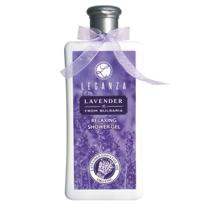 Relaxing shower gel with organic lavender oil Leganza Rosa Impex