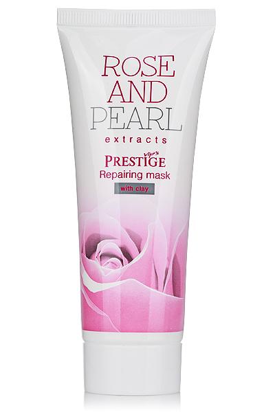 Възстановяваща маска за лице VIP's Prestige Rose & Pearl Rosa Impex