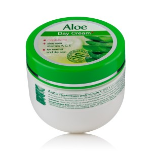Moisturizing day face cream Aloe Vera Rosa Impex