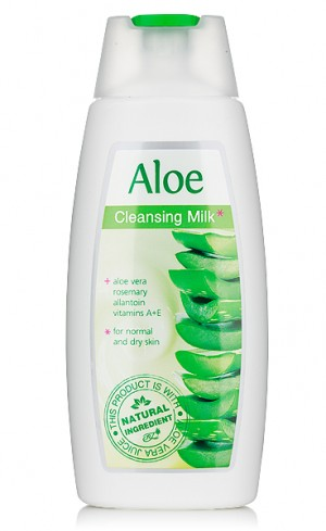 Cleansing facial milk Aloe Vera Rosa Impex