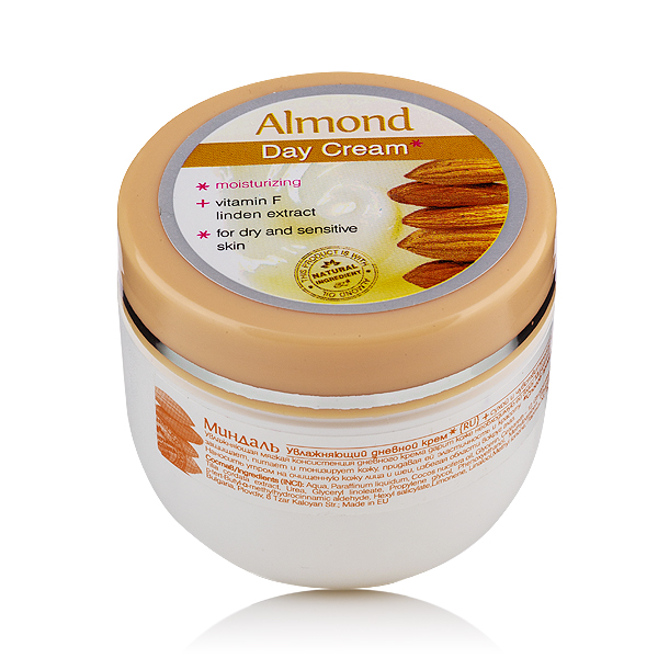 Moisturizing day face cream Almond Rosa Impex
