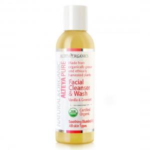 Био органичен гел за измиване на лице с ванилия и гераниум Alteya Organics