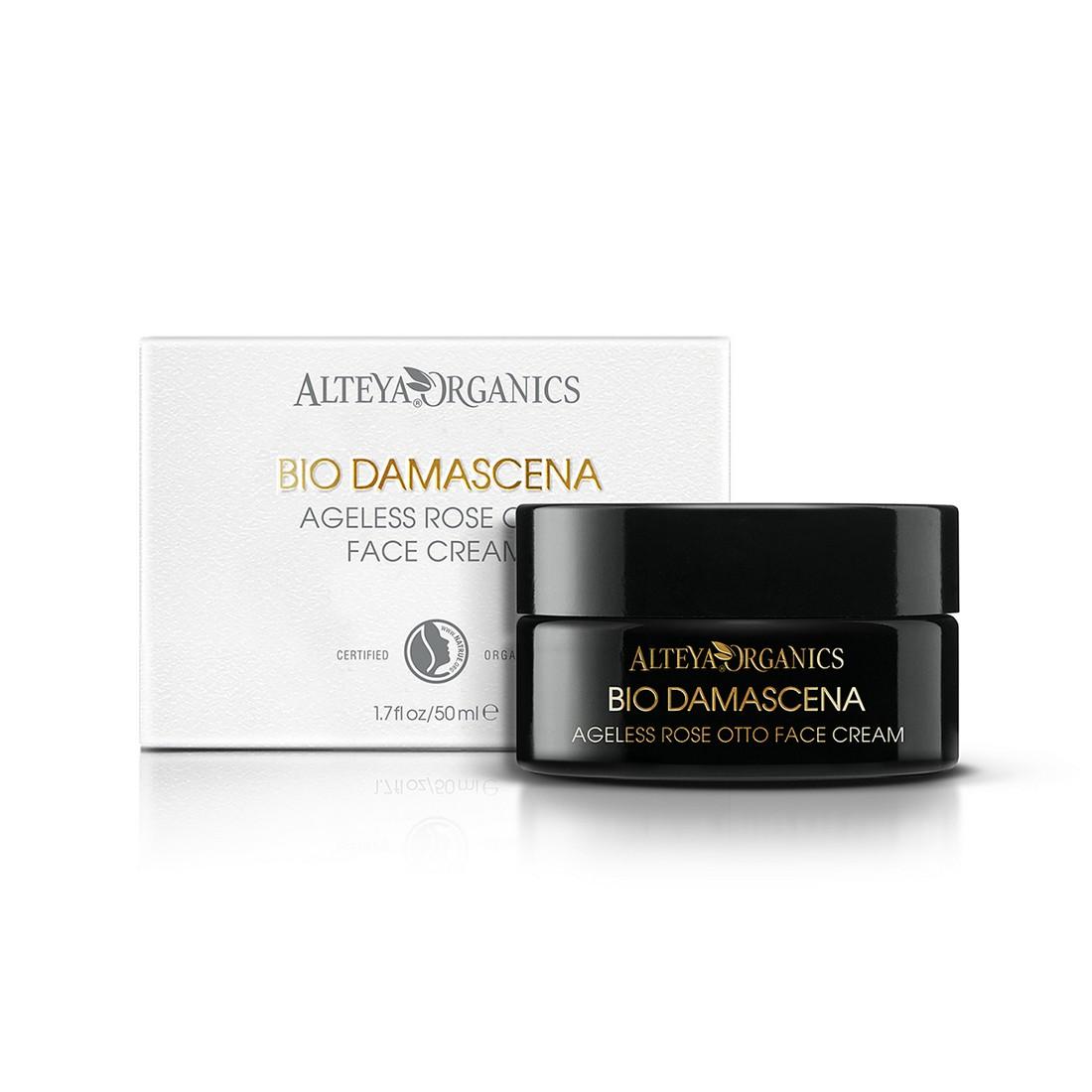 Био органичен подмладяващ крем за лице Bio Damascena Alteya Organics