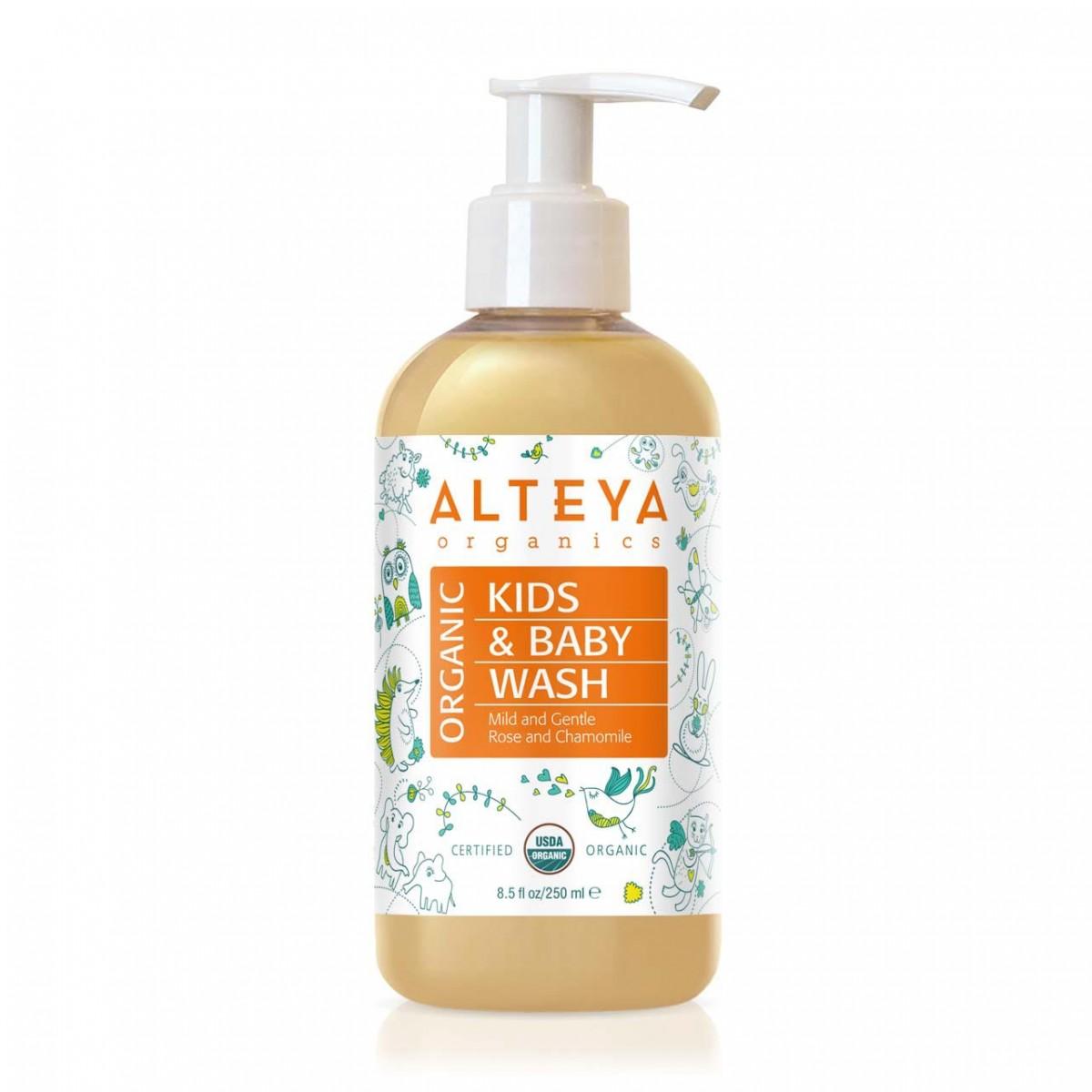Био органичен бебешки течен сапун Alteya Organics 250 мл.