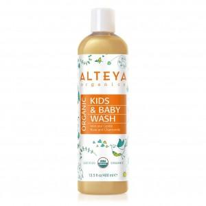 Био органичен бебешки течен сапун Alteya Organics 400 мл.