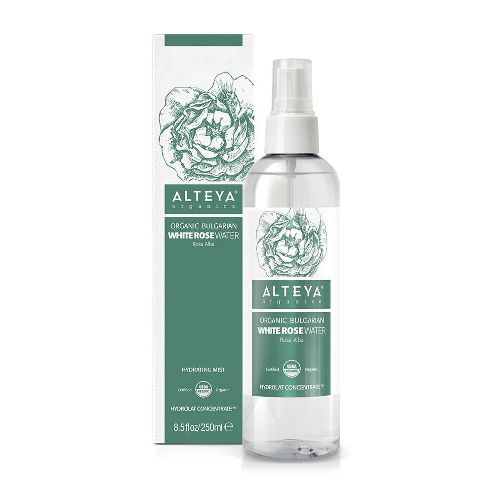 Био органична розова вода от бяла роза Алба Alteya Organics 250 мл.