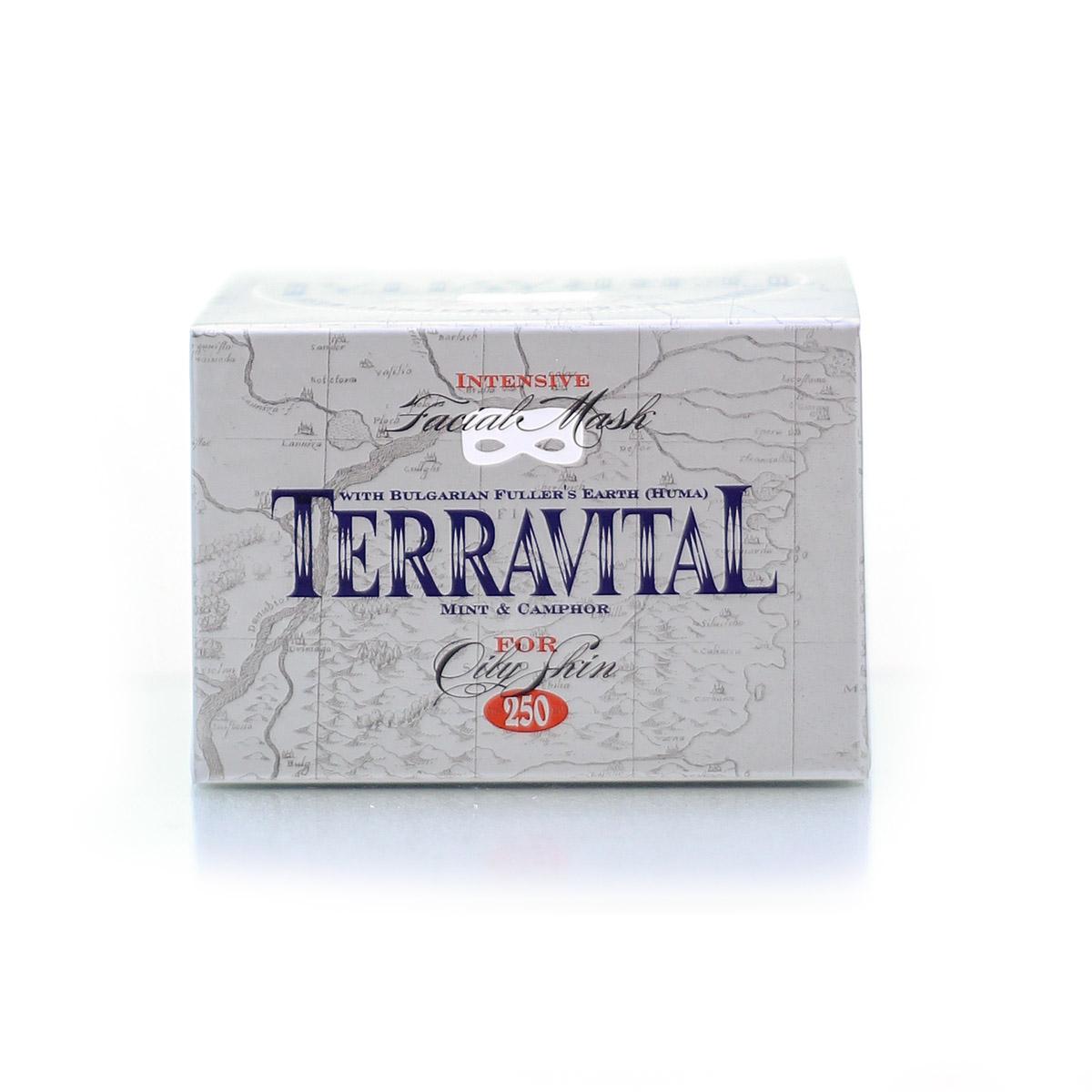Маска за лице с натурална българска хума за мазна кожа Terravital Avia 30 мл