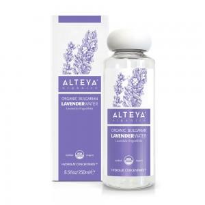 Био органична българска лавандулова вода Alteya Organics 250 мл. с дозатор
