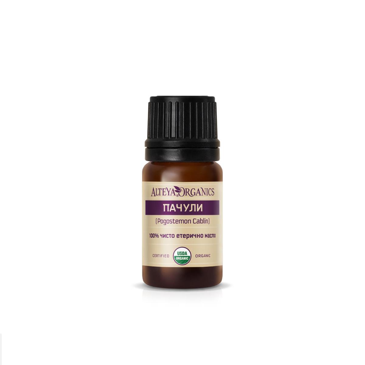 Био органично етерично масло от пачули Alteya Organics