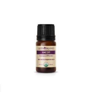 Био органично етерично масло от хисоп Alteya Organics