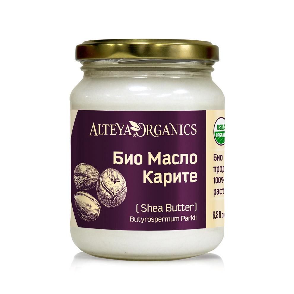 Био органично растително масло от каритѐ Alteya Organics 200 мл.