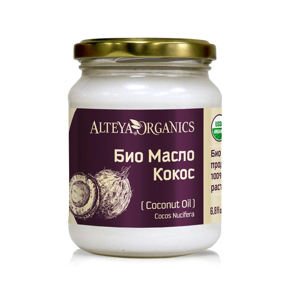 Био органично кокосово масло Alteya Organics 200 мл.