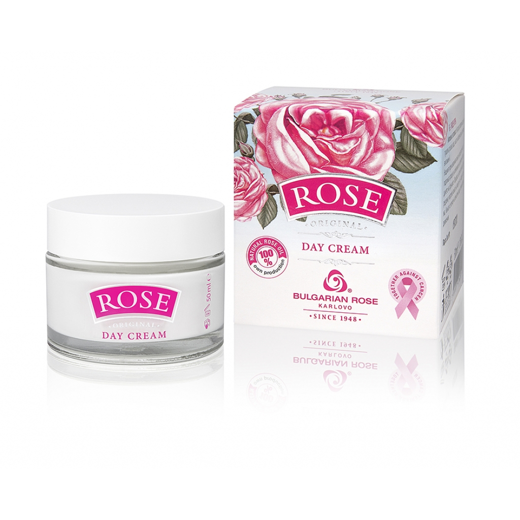 Day face cream with natural Bulgarian rose oil Bulgarian Rose Karlovo