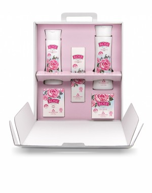 Gift set with 5 products Rosé Bulgarian Rose Karlovo