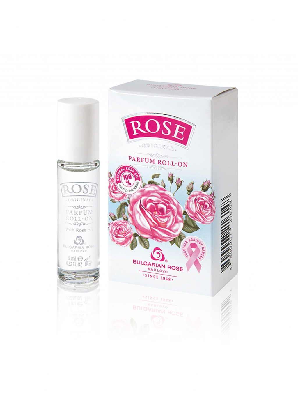 Perfume with natural rose oil Rose Bulgarian Rose Karlovo