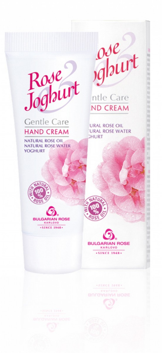 Delicate hand cream with rose oil and yoghurt Rose & Joghurt Bulgarian Rose Karlovo