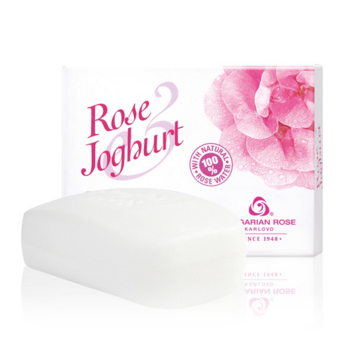 Delicate cream-soap for face, hands and body with rose oil and yoghurt Bulgarian Rose Karlovo