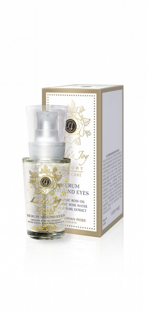 Rejuvenating eye contour serum Lady's Joy Luxury Bulgarian Rose Karlovo