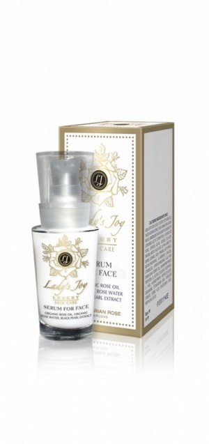 Rejuvenating face serum Lady's Joy Luxury Bulgarian Rose Karlovo