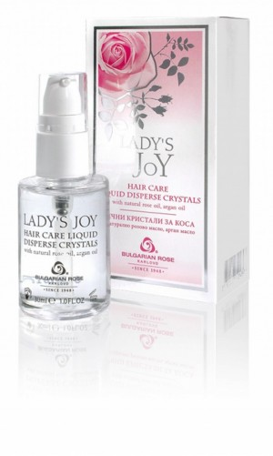 Liquid crystals for hair Lady's Joy Bulgarian Rose Karlovo