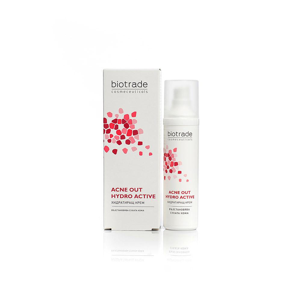 "HydroActive face cream ""Acne Out""  Biotrade"