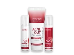"""Комплект """"Дишай с кожата си"""" Acne Out Biotrade"""