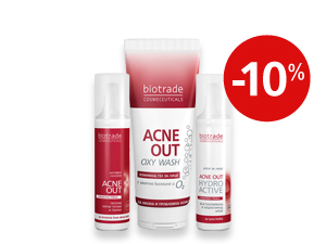 "Комплект ""Oxy Active"" Acne Out Biotrade"