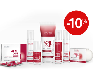 "Anti acne set ""Ged rid of acne"" Acne Out Biotrade"
