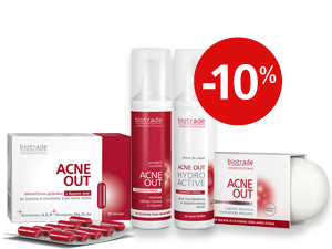 "Anti acne set ""Total skin care"" Acne Out Biotrade"