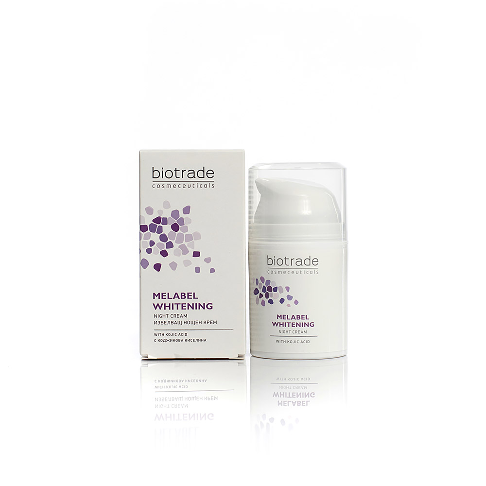 Whitening night face cream Melabel Whitening Biotrade