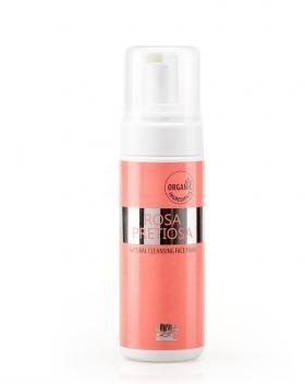 Почистваща пяна за лице Rosa Pretiosa Natural Cosmetic