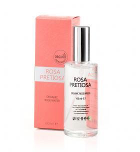 Organic rose water for face Rosa Pretiosa Natural Cosmetic