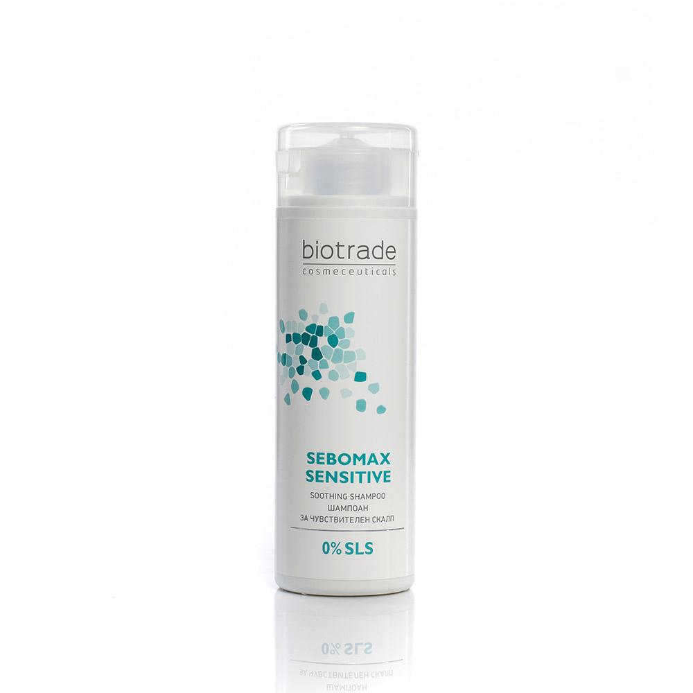 Shampoo for sensitive and oily scalp Sebomax Sensitive Biotrade