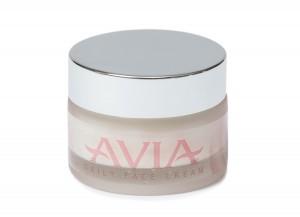 Хидратиращ дневен крем за лице с натурална хума и био розова вода за суха кожа Avia
