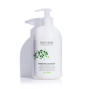Moisturizing body lotion with 12% urea Keratolin Body Biotrade