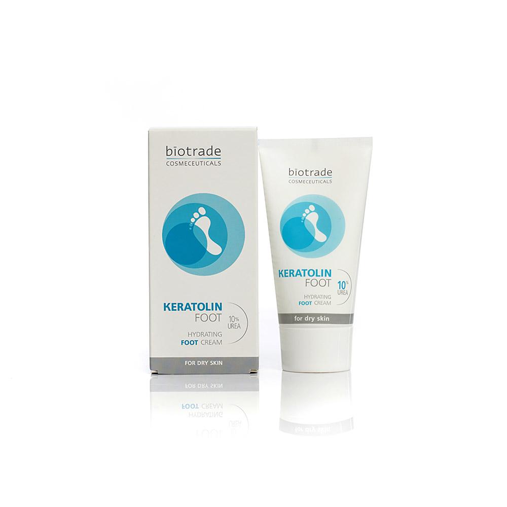 Foot cream with 10% urea Keratolin Biotrade