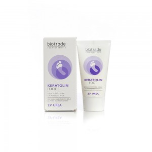 Foot cream with 25% urea Keratolin Biotrade