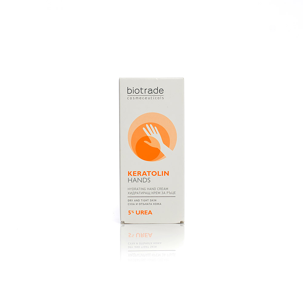 Softening hand cream with 5% urea Keratolin Biotrade