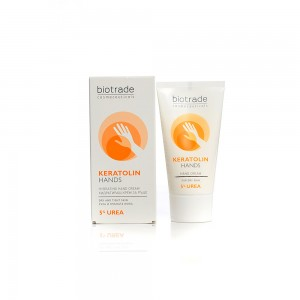 Softening hand cream with 5% urea Keratolin Biotrade