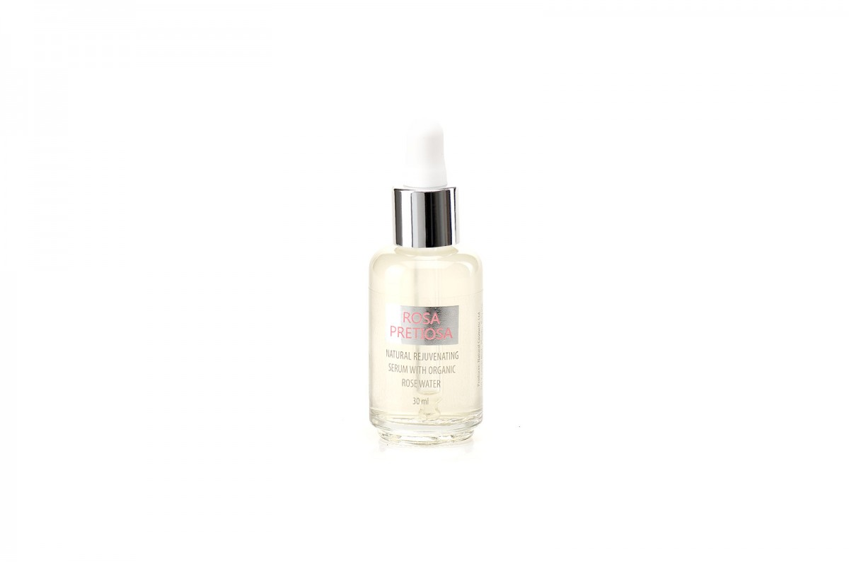 Natural rejuvenating face serum Rosa Pretiosa Natural Cosmetic