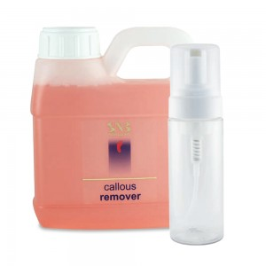 Callous and dead skin remover foam SNB
