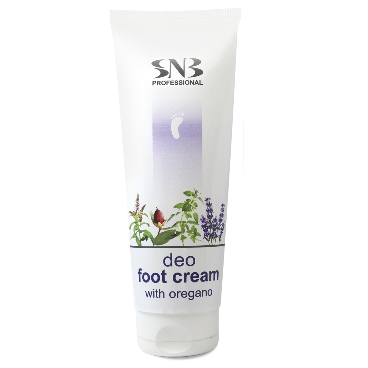 Deodorizing foot cream with oregano SNB
