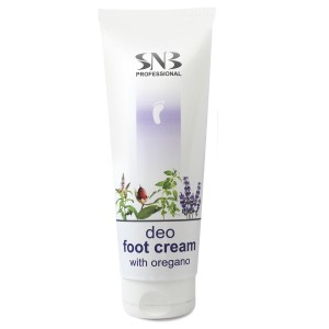 Deodorizing foot cream with oregano SNB